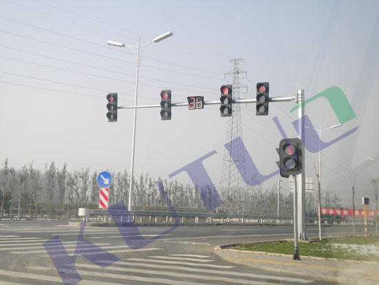 traffic lights+countdown timer in Beijing
