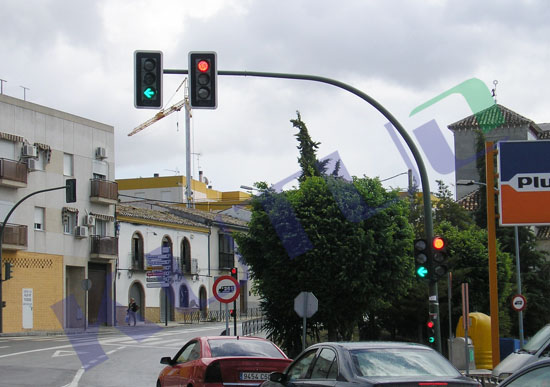 LED Traffic Signal Light Project in Brazil