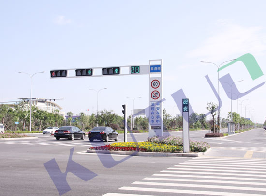 LED Traffic Signal Light Project in JiangSu